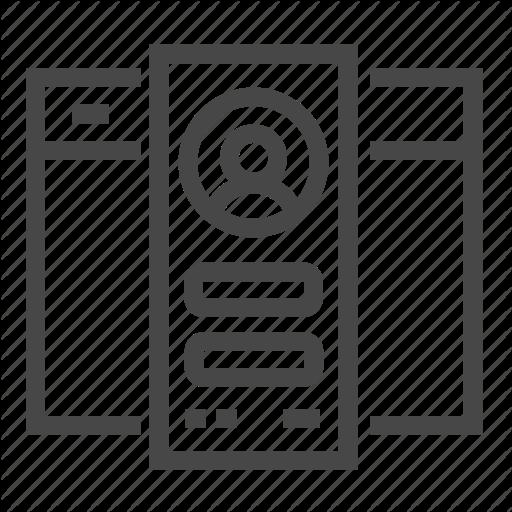 Development, Users, Web Icon
