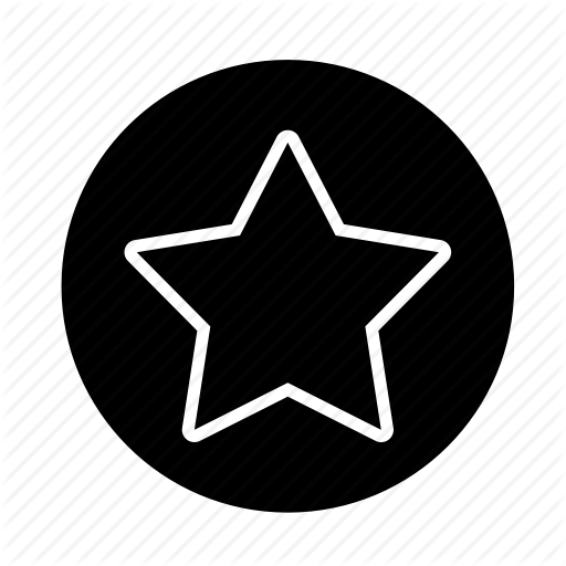 Bookmark, Favorite, Like, Round, Space, Star, Web Icon