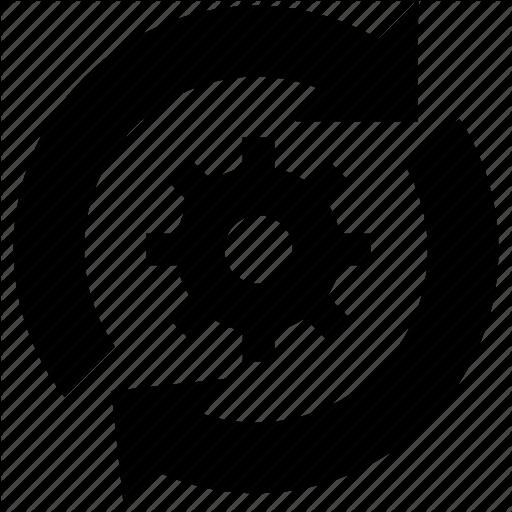 All Web Fix, Fix, Gear, Web Service Icon