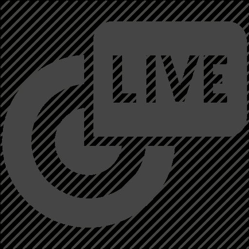 Broadcast, Channel, Online, Reportage, Stream, Webcast, Webinar Icon