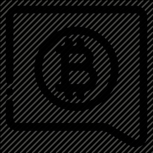 Bitcoin, Bitcointalk, Conversation, Send Icon