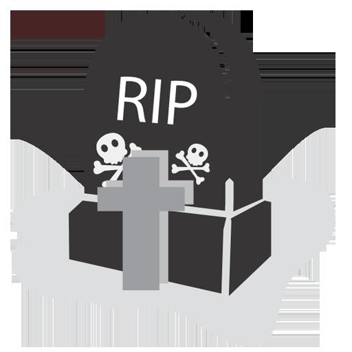 Graveyard, Icon, Rip Icon