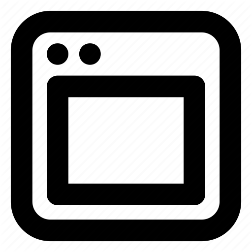Interface, Web Layout, Web Page, Web Window, Website Design Icon