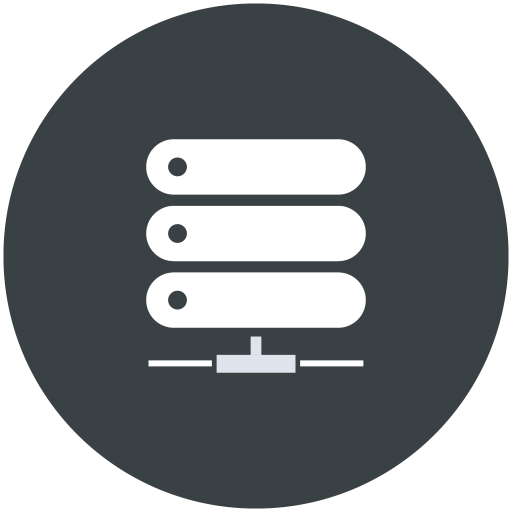 Rack, Server, Black Icon Free Of Web Hosting Technical Support Icons