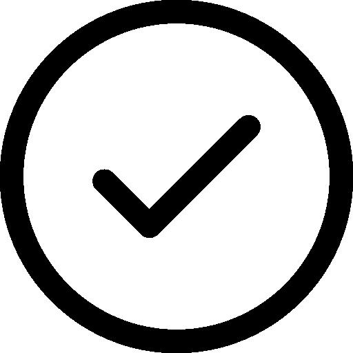 Round Done Button Icon Web Application Ui Set Freepik