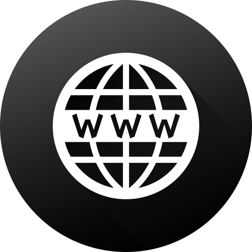 White Website Icon Png Png Image