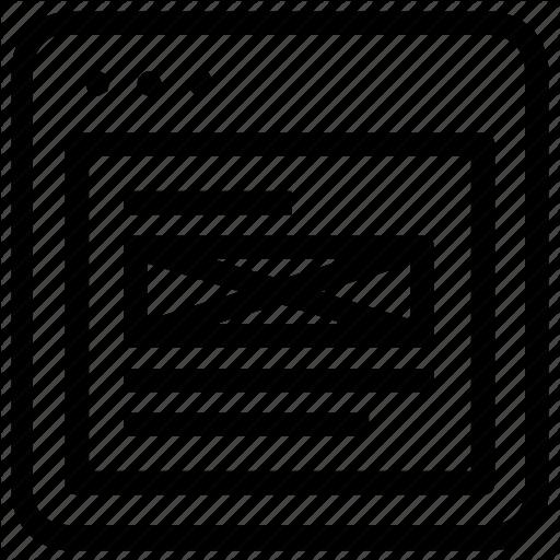 Banner, Left, Orientation, Title Icon