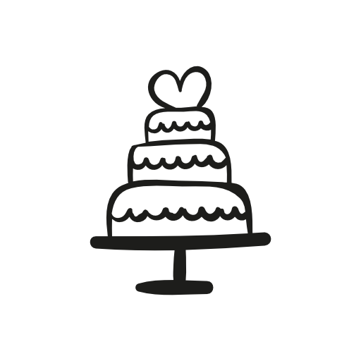 Wedding Cake Icon