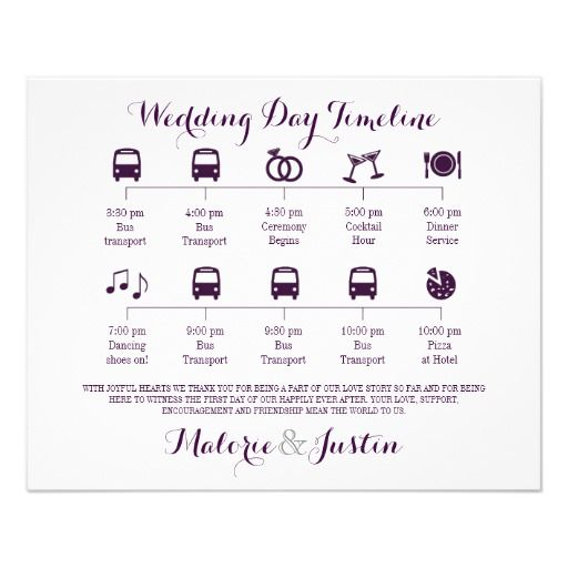 Icon Wedding Timeline Program Icon Wedding Timeline