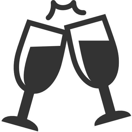 Wedding Champagne Icon
