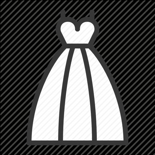Bride, Love, Wedding, Wedding Dress Icon