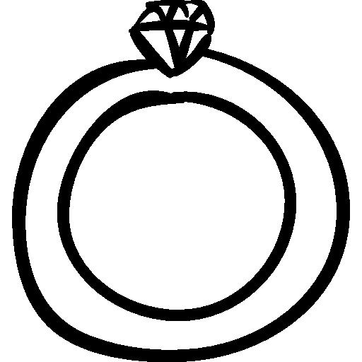 Hand Drawn Wedding Icon