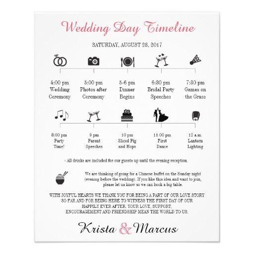 Wedding Day Timeline Uk Best Wedding Day Schedule Images