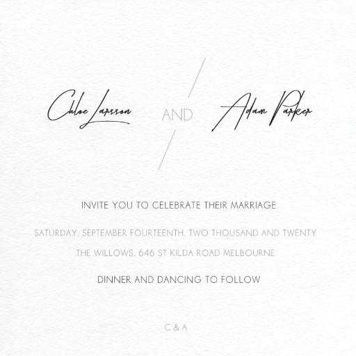 Wedding Invitations Wellington, Browse New Zealand Wedding Cards
