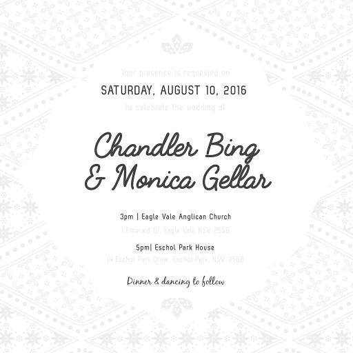 Moroccan Nights Letterpress Lp Wedding Invitations