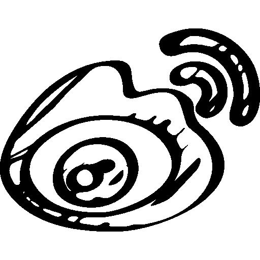 Sina Weibo Sketched Logo Icons Free Download