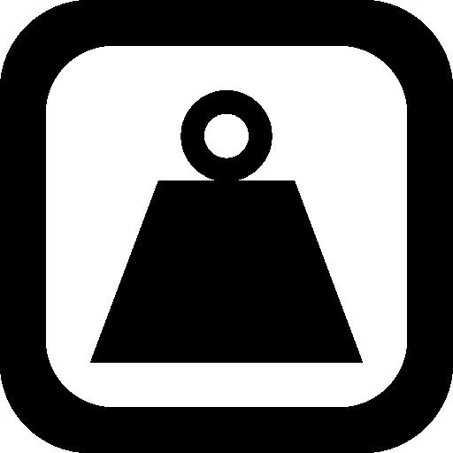 Kilogram, Help, Weight Icon