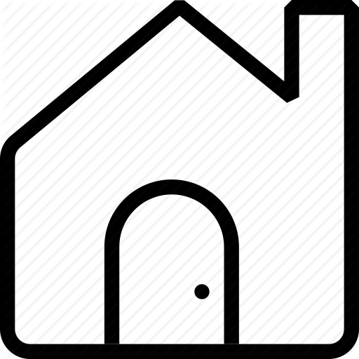 Home, Home Page, House, Residence, Tenement Icon