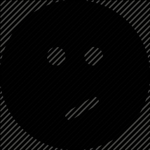 Confused, Emoticon, Emotion, Face, Perplexed, Sad, Smiley, Weird Icon