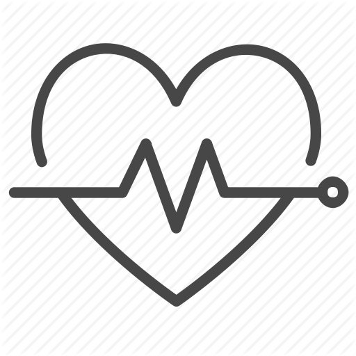 Healthcare, Healthy, Heart Rate, Pulse, Wellness Icon