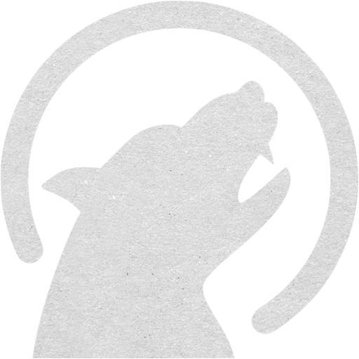 Cardboard Werewolf Icon