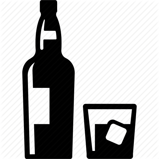 Alcohol, Booze, Cook, Drink, Drunk, Whiskey, Whisky Icon
