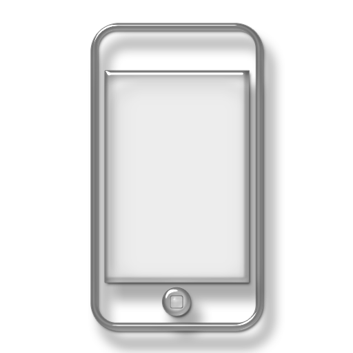 Cell Phone White Transparent Background Logo Png Images