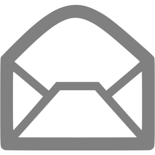Gray Email Icon