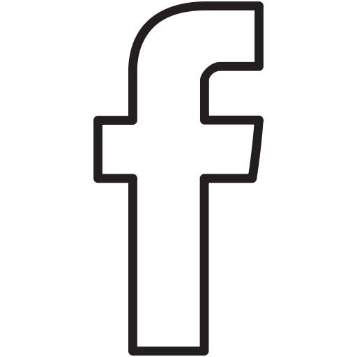 White Facebook Icon Transparent Background