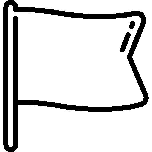 White Flag Icon