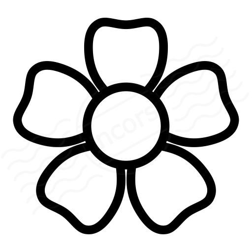 Iconexperience I Collection Flower Icon