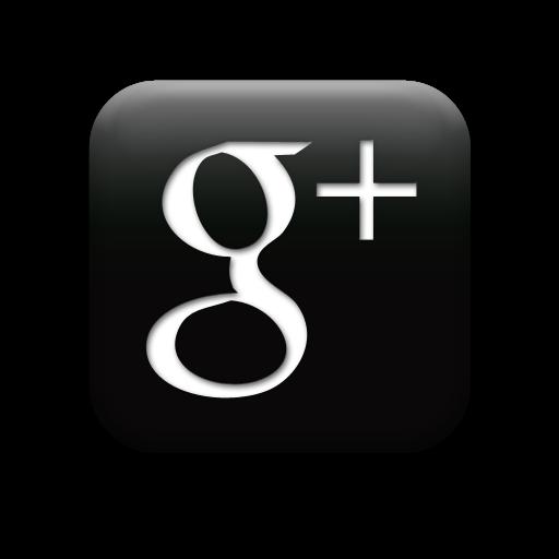 White Google Plus Icon