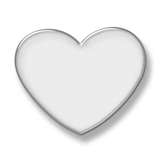 Simple Background Heart Black And White Clipart Collection