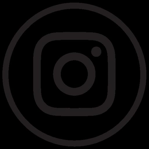 Instagram, Instagram New Design, Liner, Round, Social Media Icon