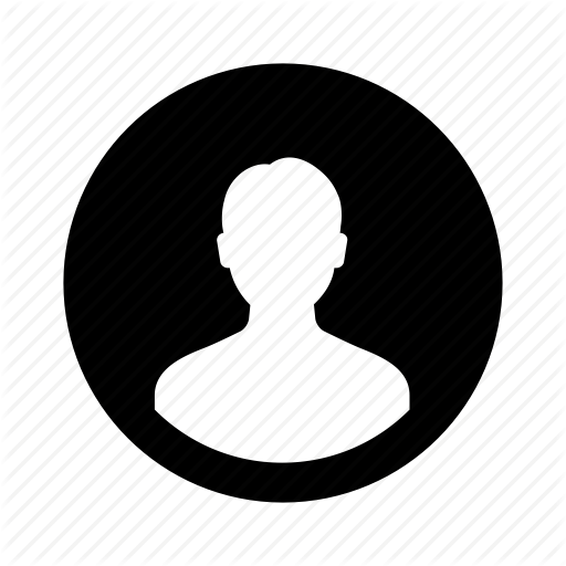 Circle, Invert, Male, Man, Person, User Icon