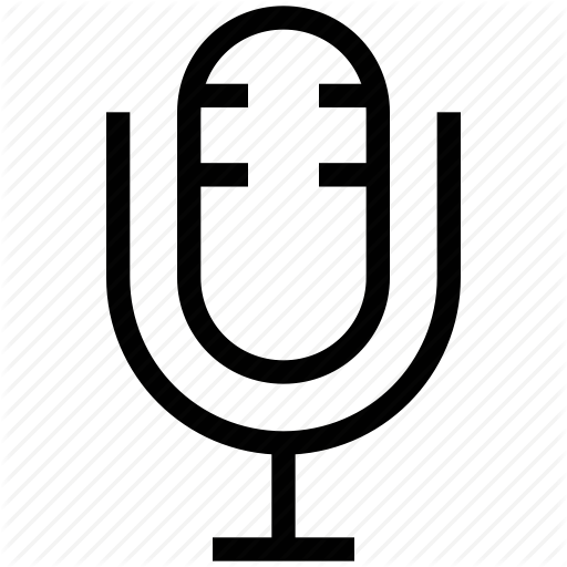 Mic, Microphone, Podcast, Record Mic, Retro Mic Icon
