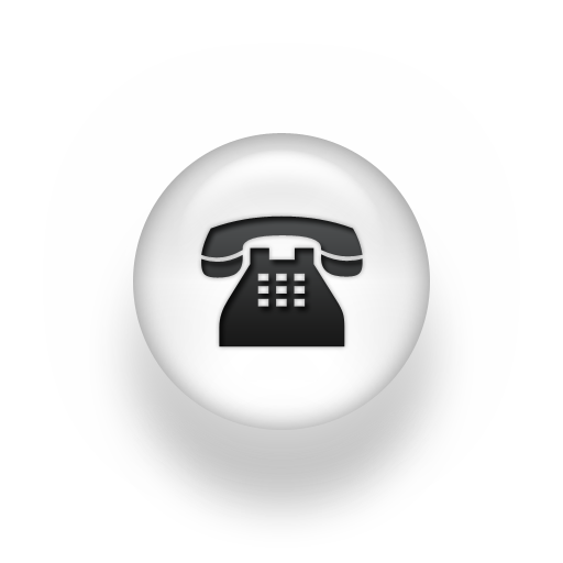 White Telephone Icon Transparent Png Clipart Free Download