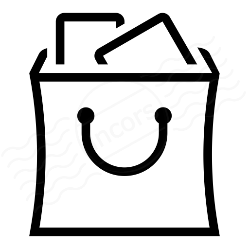 Iconexperience I Collection Shopping Bag Full Icon
