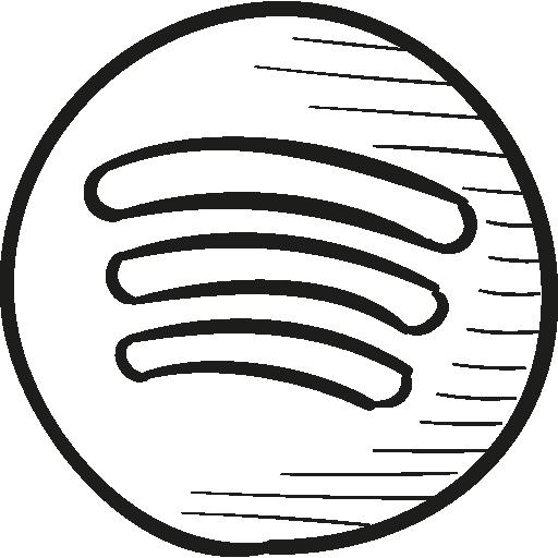 Spotify Draw Logo