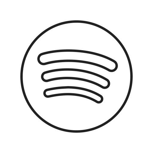 Spotify Outline Icon