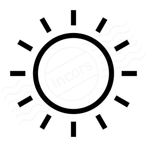 Iconexperience I Collection Sun Icon