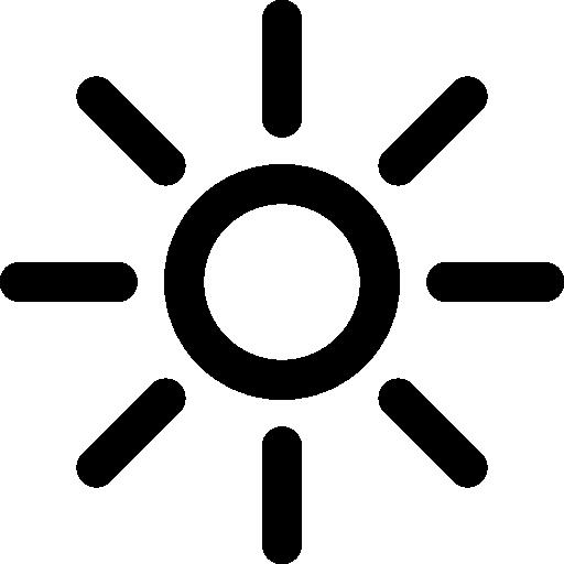 Shining Sun Icons Free Download