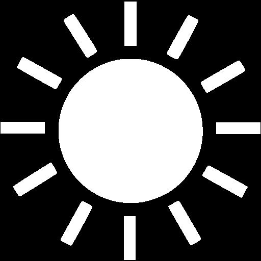 White Sun Icon