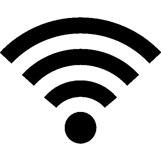 Wifi Medium Signal Symbol Icons Free Download