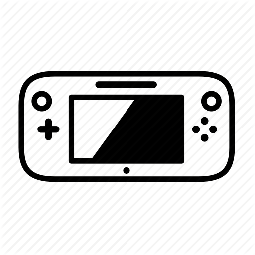 Console, Gamepad, Nintendo, Nintendo Wii U, Portable Game, Wii U Icon