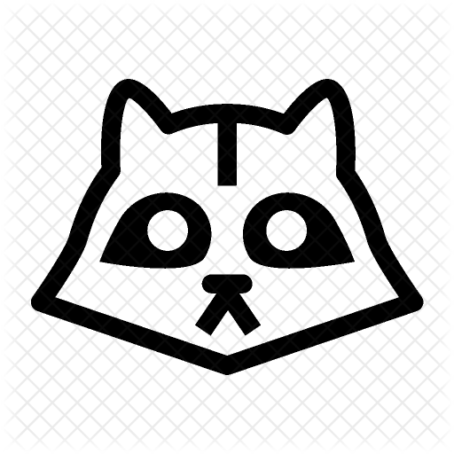 Raccoon Icon Transparent Png Clipart Free Download
