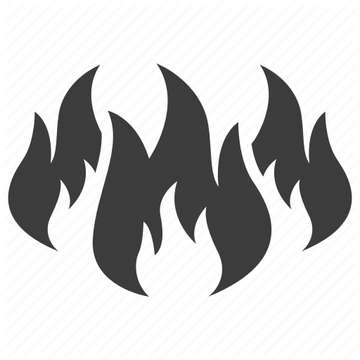 Fire, Flame, Wildfire Icon