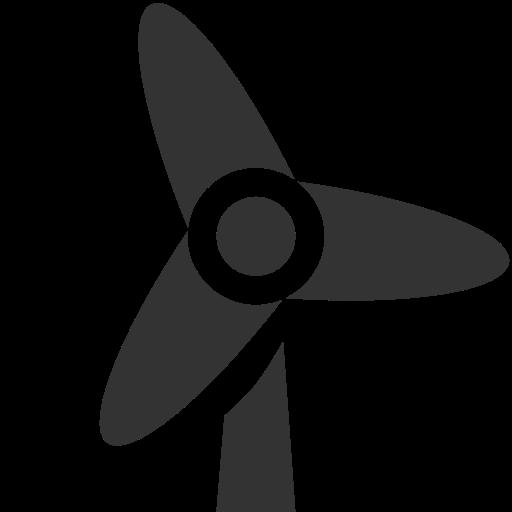 Turbine, Wind Icon