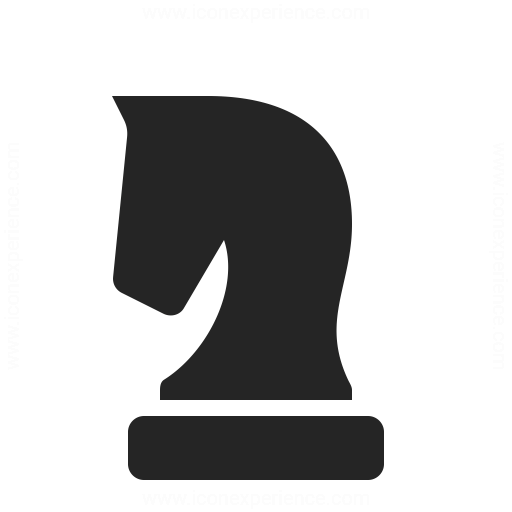 Chess Piece Knight Icon Iconexperience