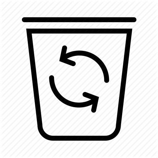 Basket, Bin, Garbage, Recycle, Trash Icon